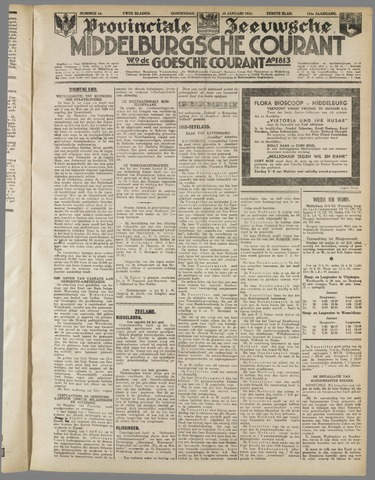 Middelburgsche Courant 1933-01-19
