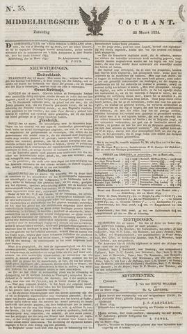 Middelburgsche Courant 1834-03-22