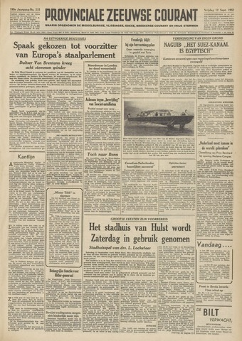 Provinciale Zeeuwse Courant 1952-09-12