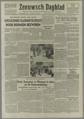 Zeeuwsch Dagblad 1957-03-13