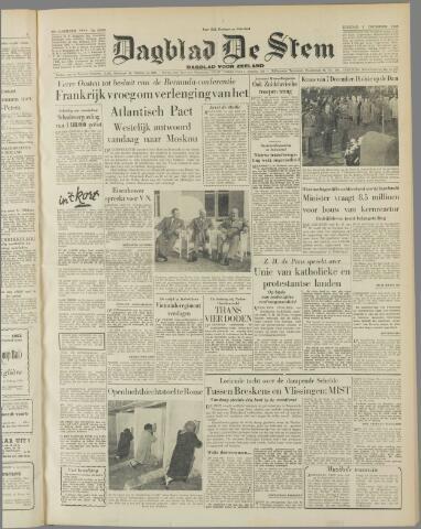 de Stem 1953-12-08