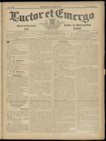 Luctor et Emergo. Antirevolutionair nieuws- en advertentieblad voor Zeeland / Zeeuwsch-Vlaanderen. Orgaan ter verspreiding van de christelijke beginselen in Zeeuwsch-Vlaanderen 1917-04-12