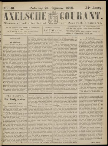 Axelsche Courant 1918-08-24