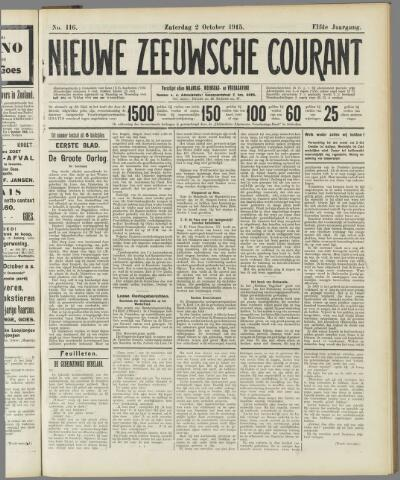 Nieuwe Zeeuwsche Courant 1915-10-02