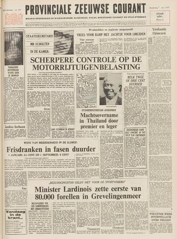 Provinciale Zeeuwse Courant 1971-11-18
