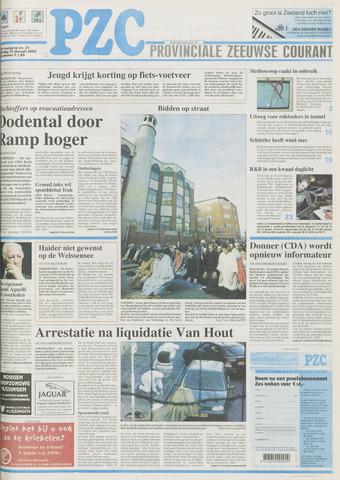 Provinciale Zeeuwse Courant 2003-01-25