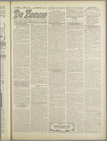 De Zeeuw. Christelijk-historisch nieuwsblad voor Zeeland 1944-04-01