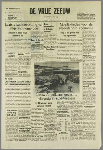 de Vrije Zeeuw 1968-07-11
