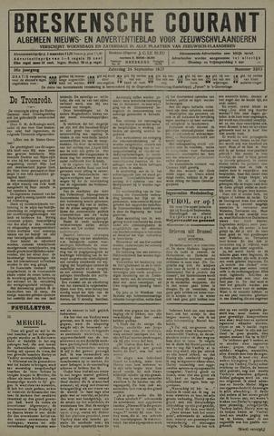 Breskensche Courant 1927-09-24