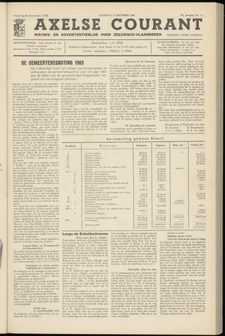 Axelsche Courant 1964-12-12