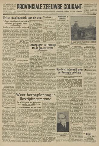 Provinciale Zeeuwse Courant 1948-10-30
