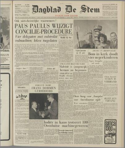 de Stem 1963-09-16