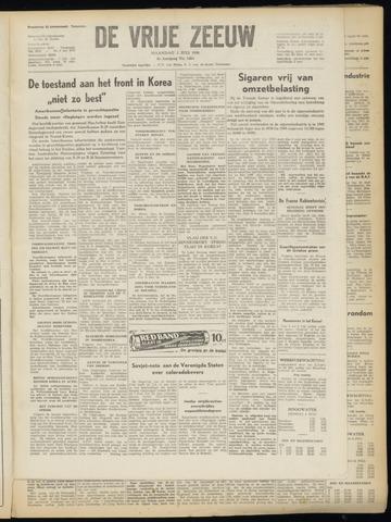 de Vrije Zeeuw 1950-07-03