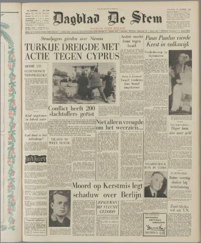 de Stem 1963-12-27
