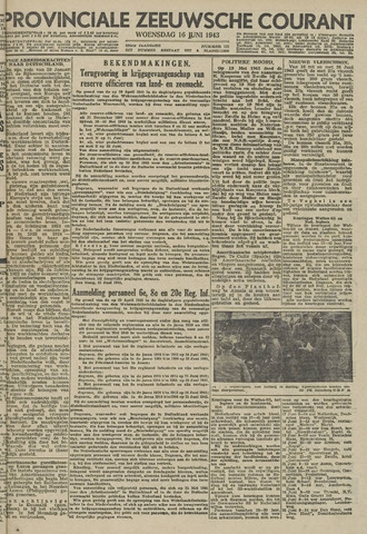 Provinciale Zeeuwse Courant 1943-06-16