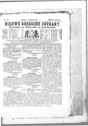 Nieuwe Goessche Courant 1880-08-03