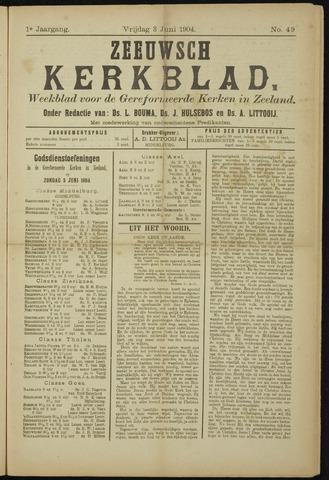 Zeeuwsche kerkbode, weekblad gewijd aan de belangen der gereformeerde kerken/ Zeeuwsch kerkblad 1904-06-03