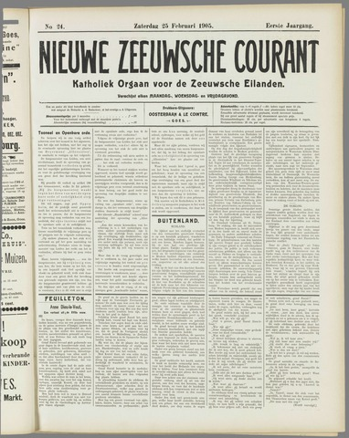 Nieuwe Zeeuwsche Courant 1905-02-25
