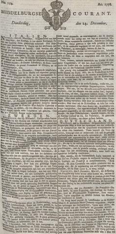 Middelburgsche Courant 1778-12-24