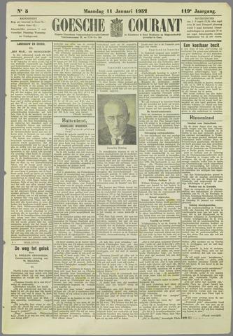 Goessche Courant 1932-01-11