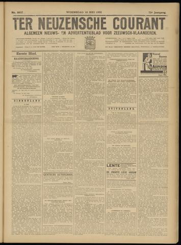 Ter Neuzensche Courant. Algemeen Nieuws- en Advertentieblad voor Zeeuwsch-Vlaanderen / Neuzensche Courant ... (idem) / (Algemeen) nieuws en advertentieblad voor Zeeuwsch-Vlaanderen 1932-05-18