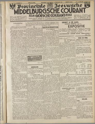 Middelburgsche Courant 1933-02-13