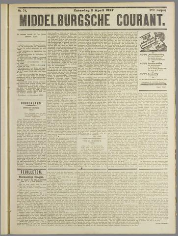 Middelburgsche Courant 1927-04-02