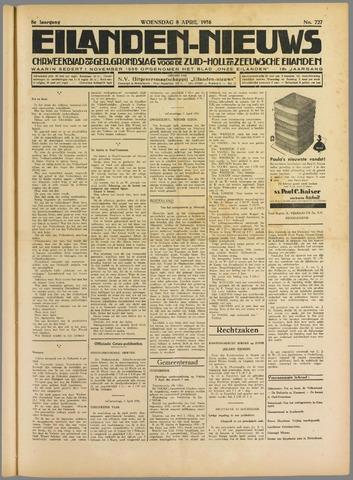 Eilanden-nieuws. Christelijk streekblad op gereformeerde grondslag 1936-04-08