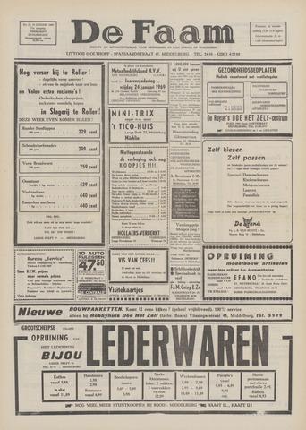 de Faam en de Faam/de Vlissinger 1969-01-16