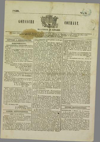Goessche Courant 1850-01-28