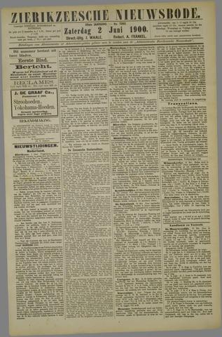 Zierikzeesche Nieuwsbode 1900-06-02