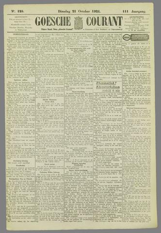 Goessche Courant 1924-10-21