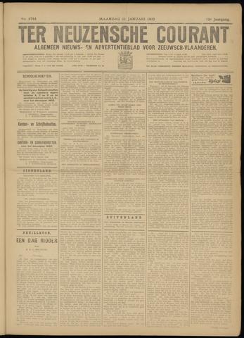 Ter Neuzensche Courant. Algemeen Nieuws- en Advertentieblad voor Zeeuwsch-Vlaanderen / Neuzensche Courant ... (idem) / (Algemeen) nieuws en advertentieblad voor Zeeuwsch-Vlaanderen 1932-01-11