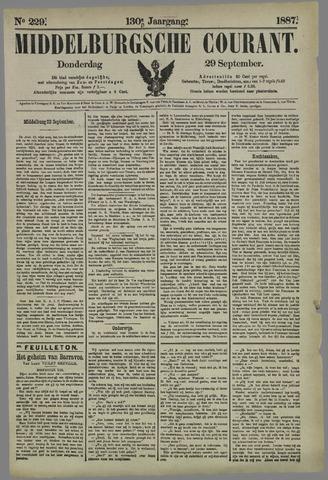 Middelburgsche Courant 1887-09-29