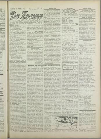 De Zeeuw. Christelijk-historisch nieuwsblad voor Zeeland 1943-04-02