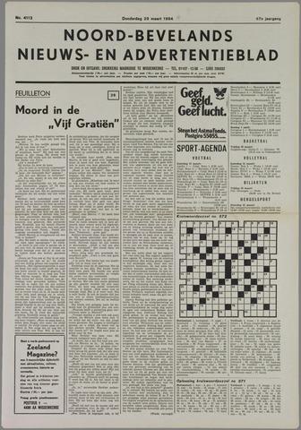 Noord-Bevelands Nieuws- en advertentieblad 1984-03-29