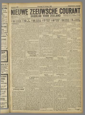 Nieuwe Zeeuwsche Courant 1921-10-18