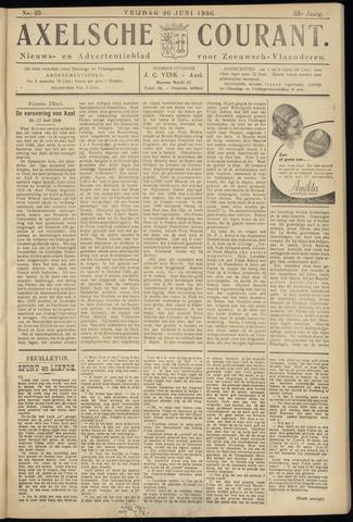 Axelsche Courant 1936-06-26