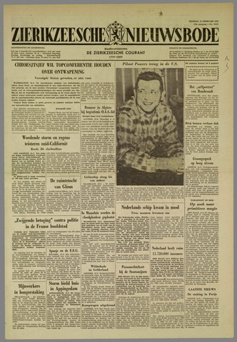 Zierikzeesche Nieuwsbode 1962-02-13