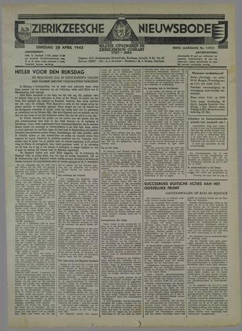 Zierikzeesche Nieuwsbode 1942-04-28