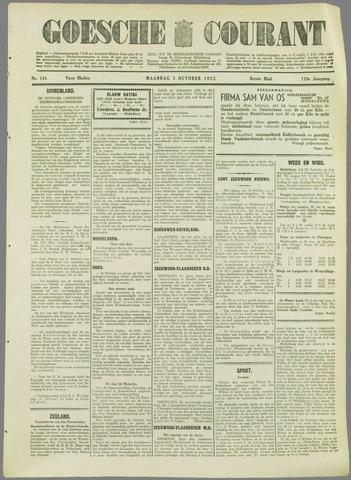 Goessche Courant 1932-10-03
