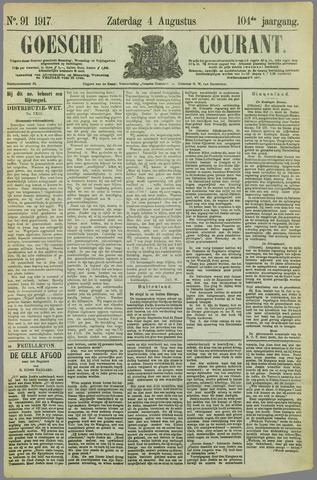 Goessche Courant 1917-08-04