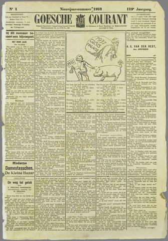 Goessche Courant 1932-01-01