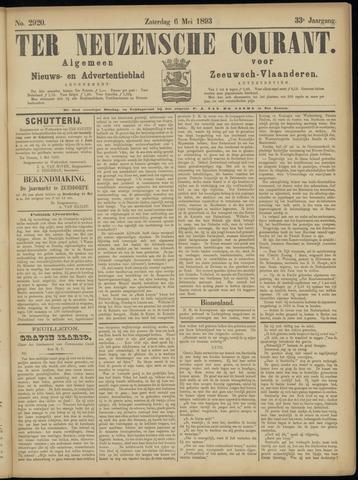 Ter Neuzensche Courant. Algemeen Nieuws- en Advertentieblad voor Zeeuwsch-Vlaanderen / Neuzensche Courant ... (idem) / (Algemeen) nieuws en advertentieblad voor Zeeuwsch-Vlaanderen 1893-05-06