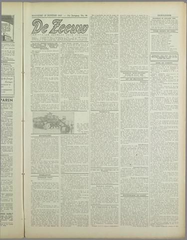 De Zeeuw. Christelijk-historisch nieuwsblad voor Zeeland 1943-01-25