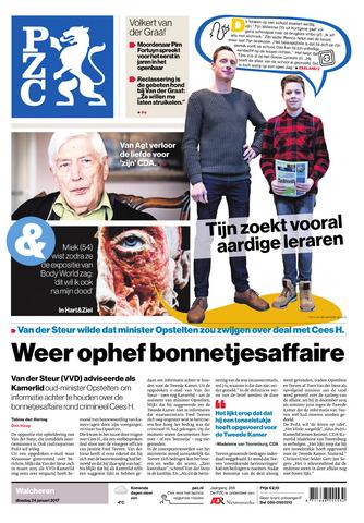 Provinciale Zeeuwse Courant 2017-01-24