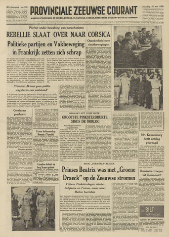 Provinciale Zeeuwse Courant 1958-05-27