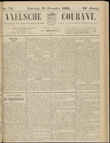 Axelsche Courant 1903-12-12