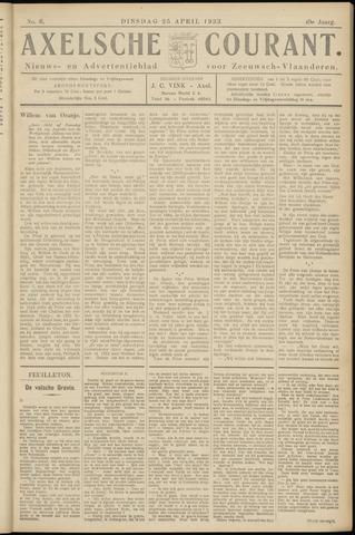Axelsche Courant 1933-04-25