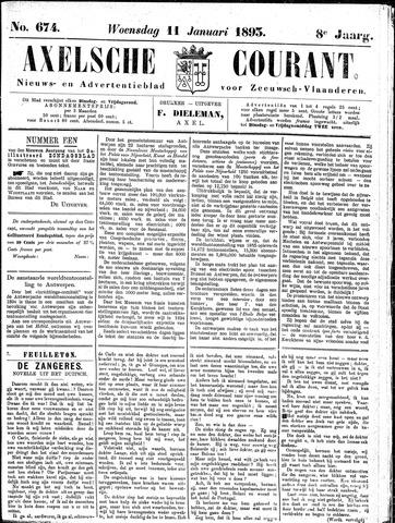 Axelsche Courant 1893-01-11